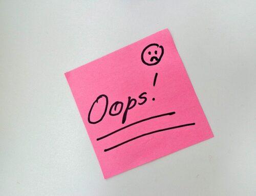 La cultura del error en las empresas